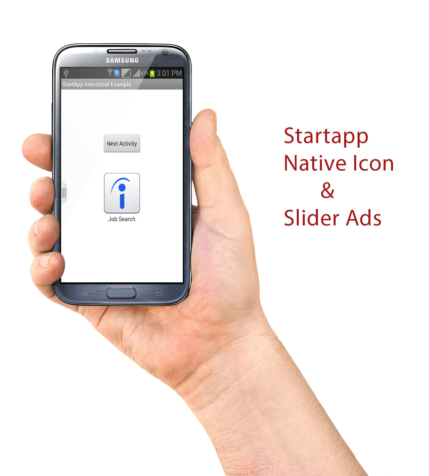 How to implement Startapp Ads In Android Application? - Android Trainee