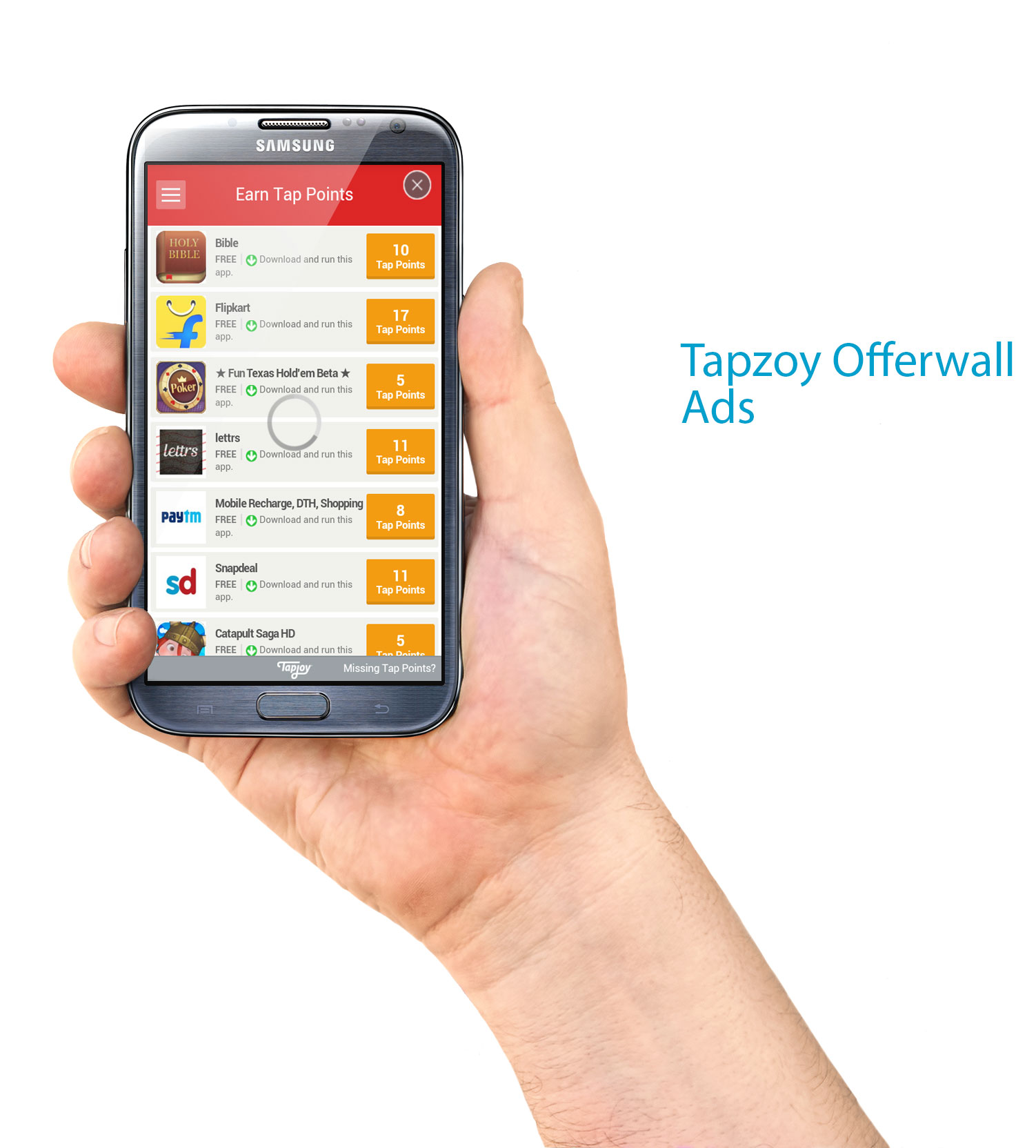 How to implement Tapjoy Ads In Android Application? - Android Trainee