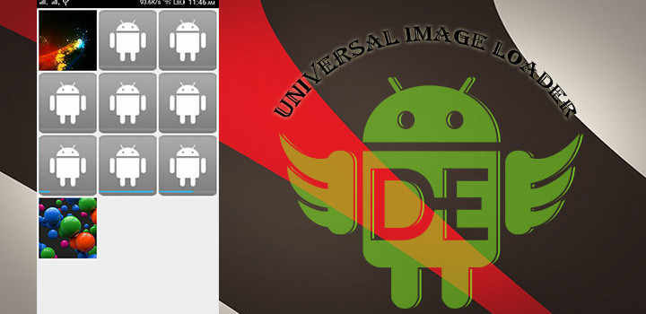 Universal Image Loader With GridView For Android.