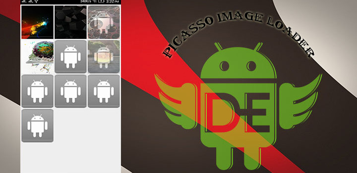 Picasso Image Loader With GridView For Android.