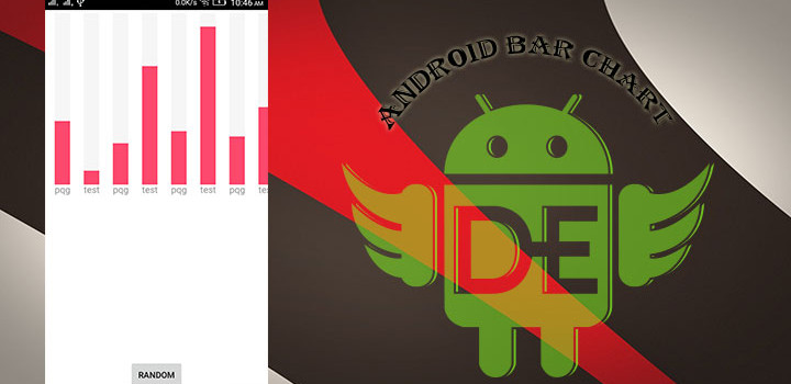 Draw Android Bar Chart With Animation.